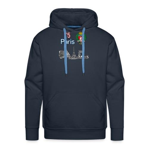 Paris france - Sweat-shirt à capuche Premium pour hommes
