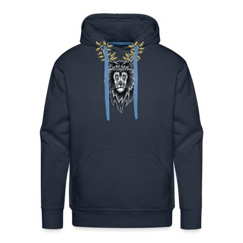 Deer Lion - Men's Premium Hoodie