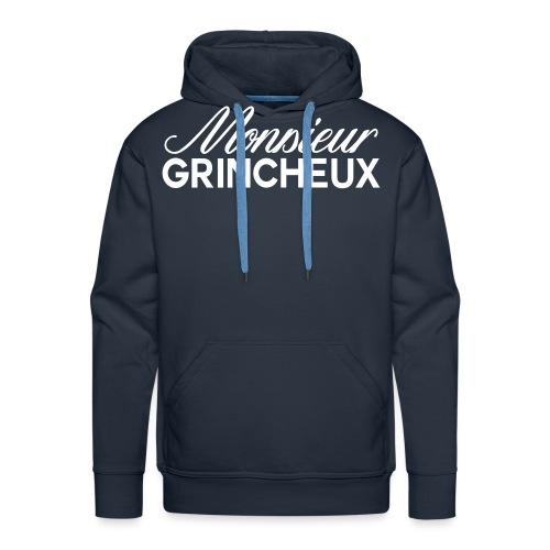 monsieur grincheux - Sweat-shirt à capuche Premium pour hommes