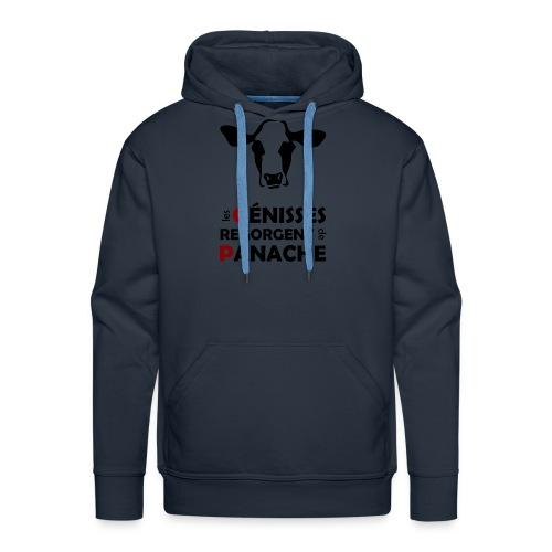 Black Panache - Sweat-shirt à capuche Premium pour hommes