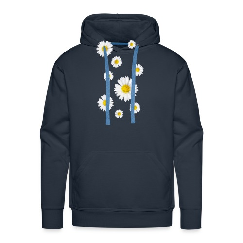 Gänseblumen, Gänseblümchen - Männer Premium Hoodie