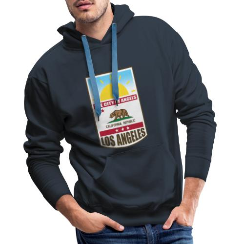 Los Angeles - California Republic - Men's Premium Hoodie