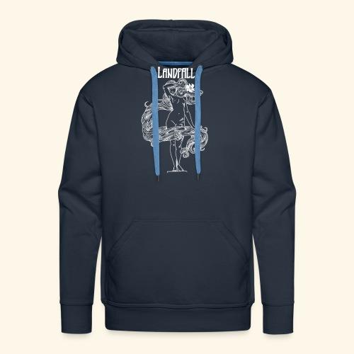 LANDFALL FLORA NEGRA BW - Männer Premium Hoodie