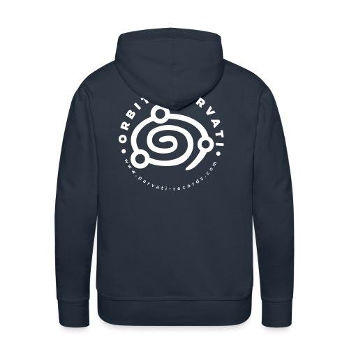 Orbita Parvati white logo - Men's Premium Hoodie