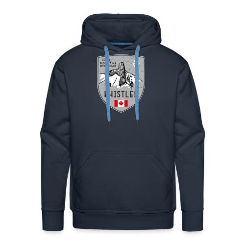 Whistler Canada coat of arms - Men's Premium Hoodie