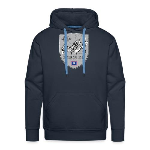 Jackson Hole USA Wappen - Men's Premium Hoodie