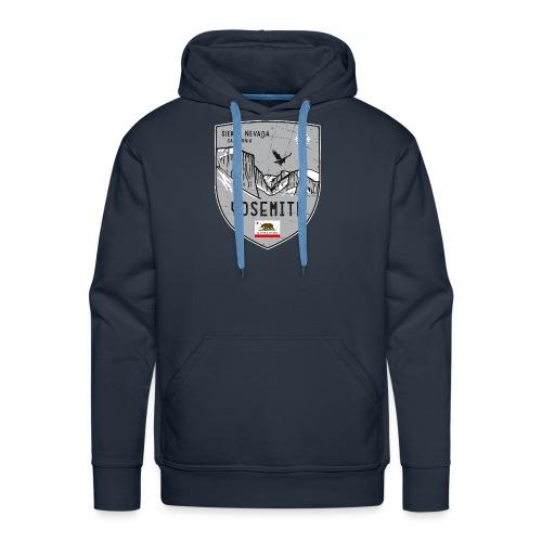 Yosemite USA coat of arms - Men's Premium Hoodie