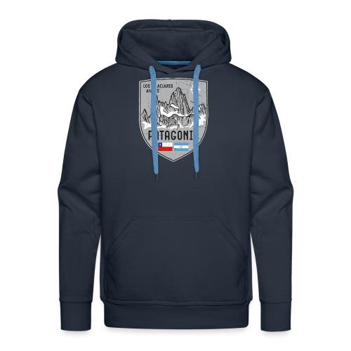 Fitzroy Patagonia coat of arms - Men's Premium Hoodie