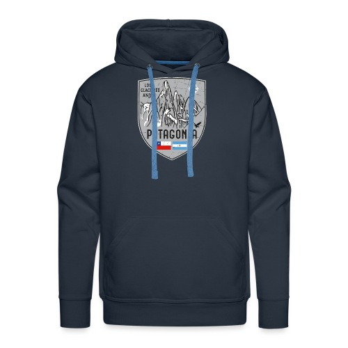 Cerro Torre Patagonia coat of arms - Men's Premium Hoodie