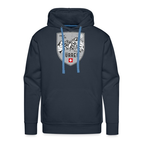 Murren Switzerland coat of arms - Men's Premium Hoodie