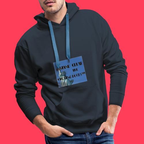 Statue SUB - Sweat-shirt à capuche Premium pour hommes