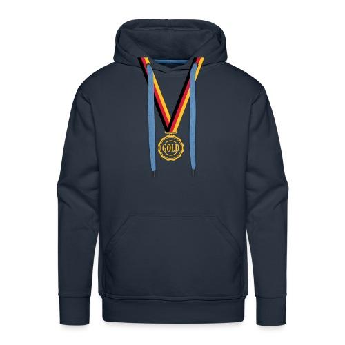 Goldmedaille Deutschland - Männer Premium Hoodie