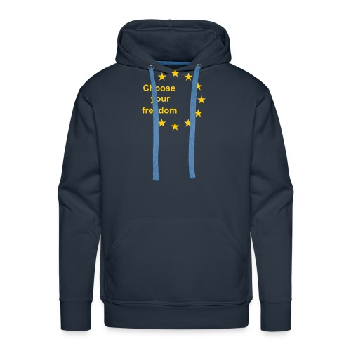 choose_you_freedom-png - Mannen Premium hoodie