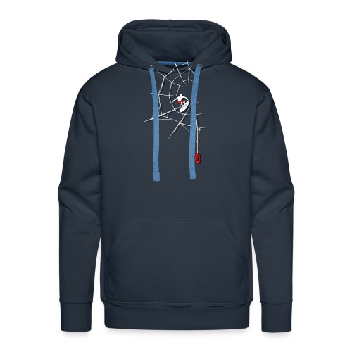 Surf the Web - Men's Premium Hoodie
