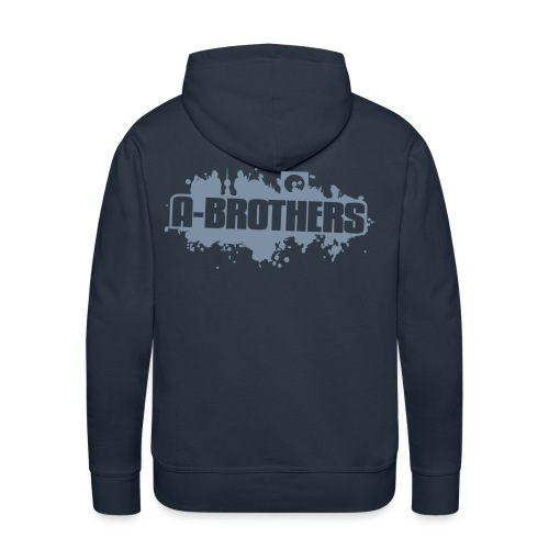 A Brothers Vector Design - Men's Premium Hoodie