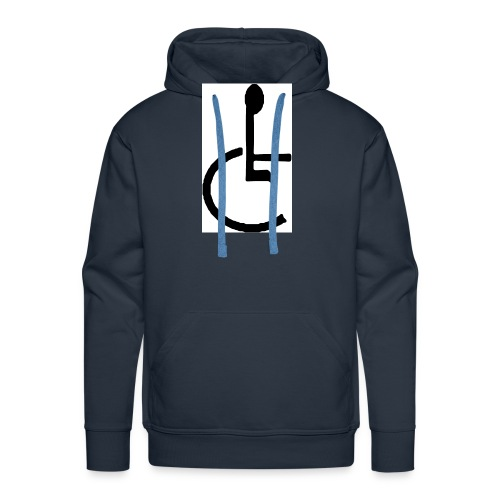 Don't have to get Drunk to Get Legless - Men's Premium Hoodie