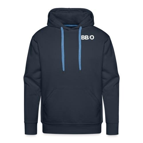 bbo logo Kurzschriftzug - Männer Premium Hoodie