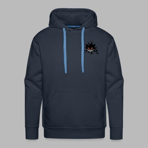 virus 2.0 logo - Sweat-shirt à capuche Premium pour hommes