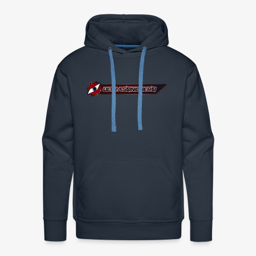 UltraSonicHero Title - Men's Premium Hoodie