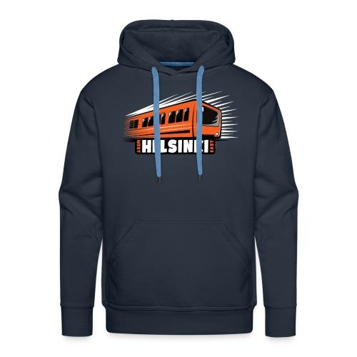 Helsinki Metro T-Shirts, Hoodies, Clothes, Gifts - Miesten premium-huppari
