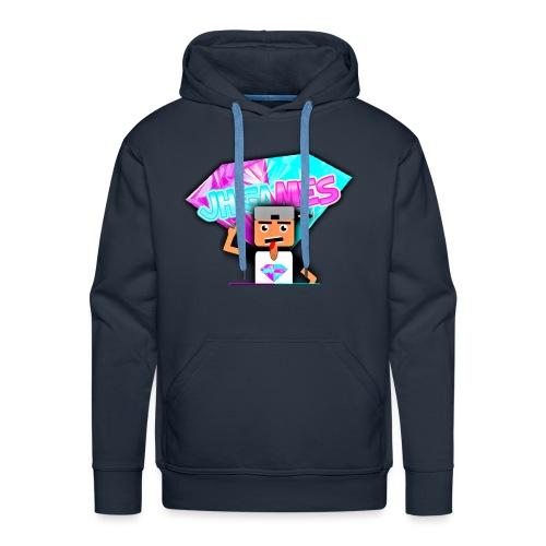 JHGAMES Nieuwe Logo 2 jaar bestaan van JHGAMES - Mannen Premium hoodie