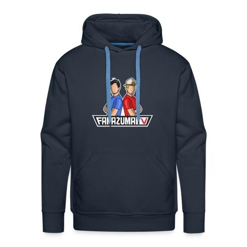 FaNaZuMa Tv - Sweat-shirt à capuche Premium pour hommes