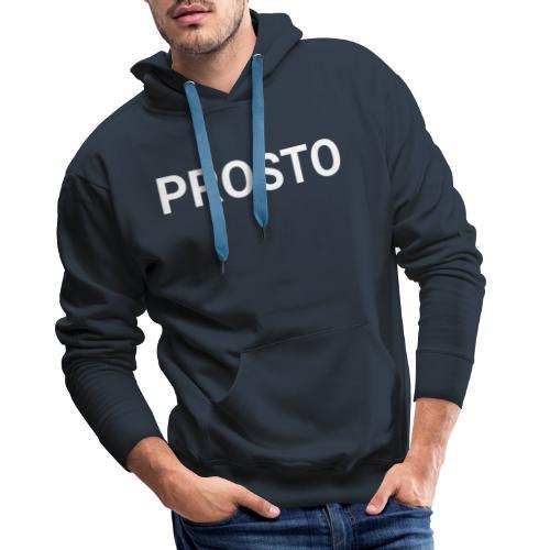 PRSOTO - WHITE COPY - Bluza męska Premium z kapturem