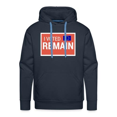 Remain - Men's Premium Hoodie