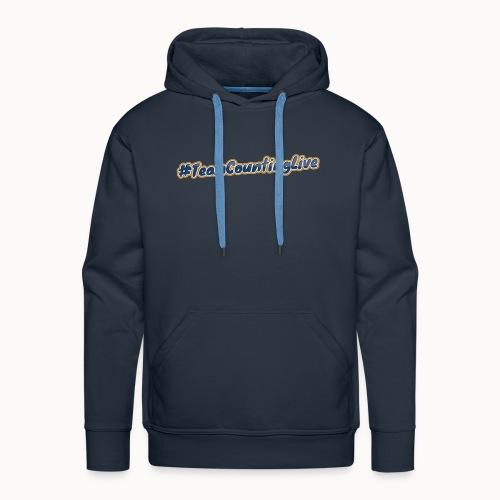 #TeamCountingLive - Mannen Premium hoodie