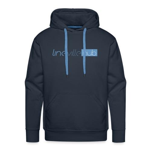 LINEVILLEHUB - Felpa con cappuccio premium da uomo