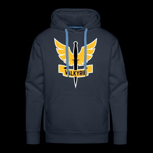 Yellow Valkyrie Logo - Men's Premium Hoodie