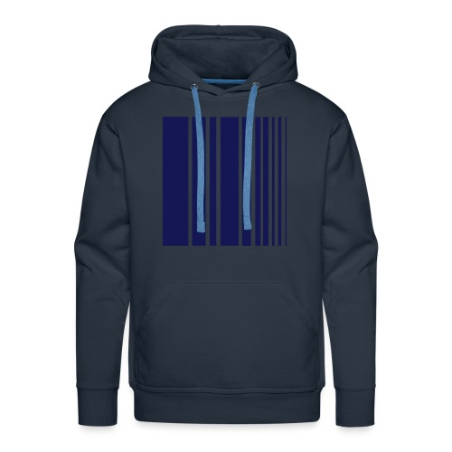 stripes blue - Men's Premium Hoodie