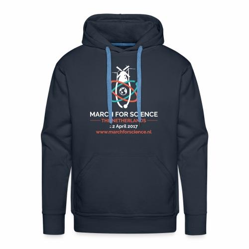 MfS-NL logo dark background - Men's Premium Hoodie