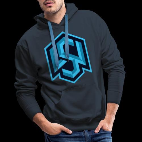 "Silent Wolves Inverted ""SW"" Merchandise - Men's Premium Hoodie"