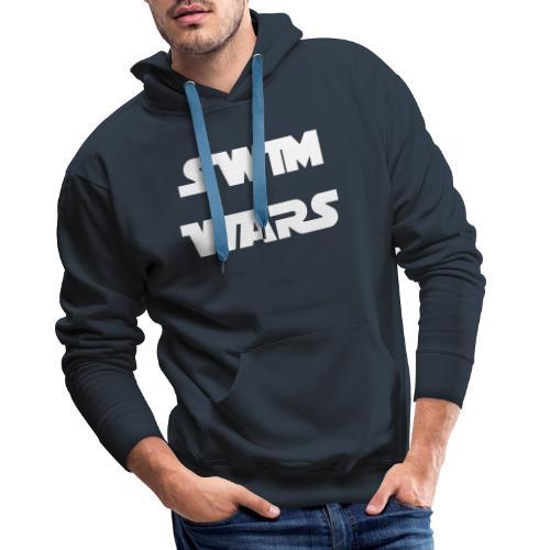 Swim Wars - Felpa con cappuccio premium da uomo
