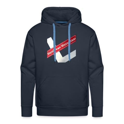 Henkvanwassenaar shirt - Mannen Premium hoodie