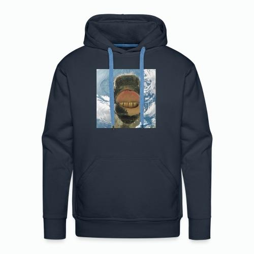 Drinking Horse / Drinkend Paard - Mannen Premium hoodie