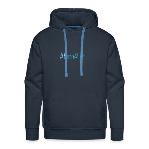 Keto For Life With No Background - Men's Premium Hoodie