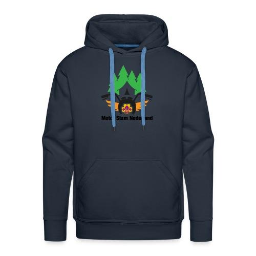 logo motorstam - Mannen Premium hoodie