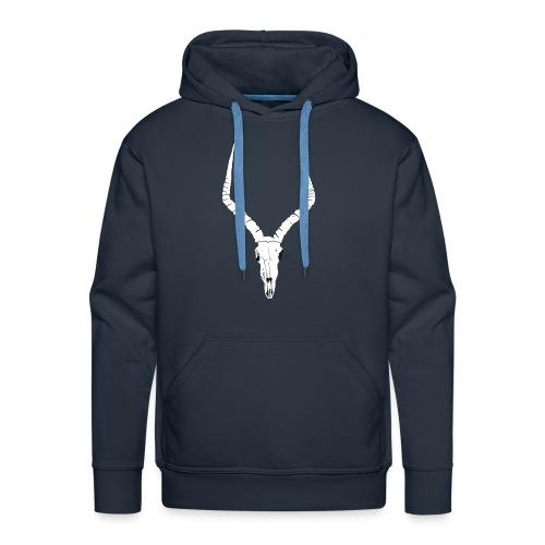Antelope ANIMAL skull - Men's Premium Hoodie