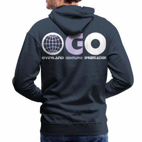 OGO-28 - Sweat-shirt à capuche Premium pour hommes
