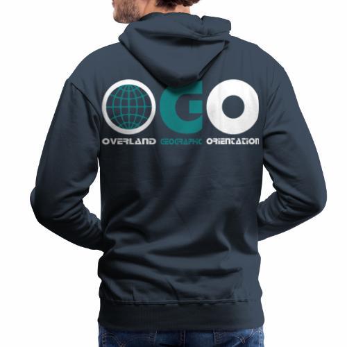 OGO-34 - Sweat-shirt à capuche Premium pour hommes
