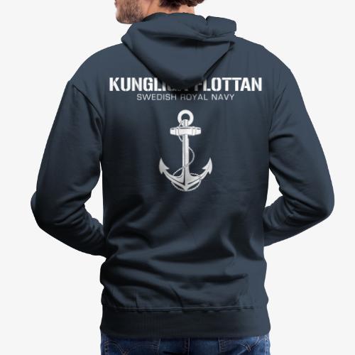 Kungliga Flottan - Swedish Royal Navy - ankare - Premiumluvtröja herr
