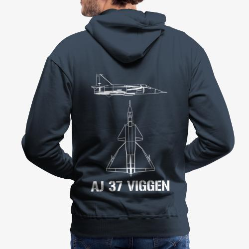 AJ 37 VIGGEN - Premiumluvtröja herr