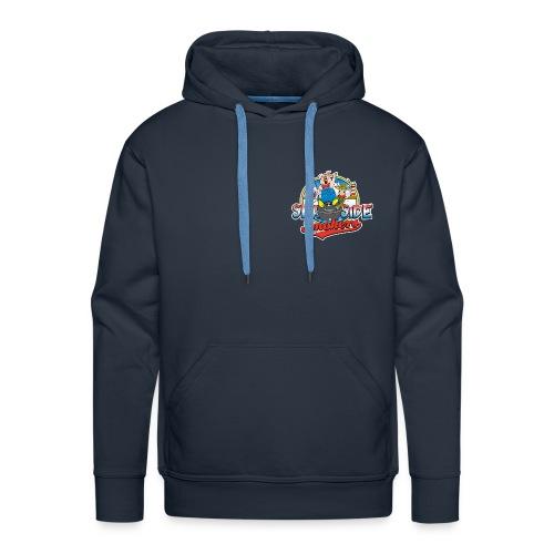 Only Blue when BBQ - Mannen Premium hoodie