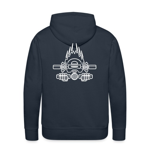 Burn Head - Sweat-shirt à capuche Premium pour hommes