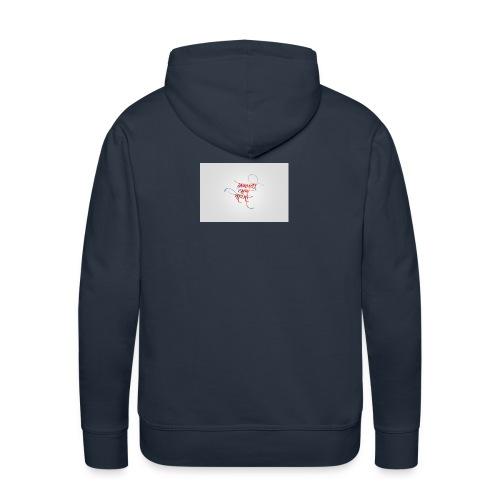 indie - Sweat-shirt à capuche Premium pour hommes