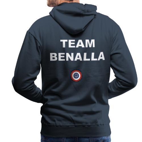 Team Benalla - Sweat-shirt à capuche Premium pour hommes