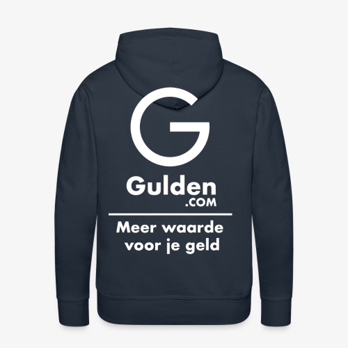 NLG - Gold Cryptocurrency - Early Adopter - Men's Premium Hoodie