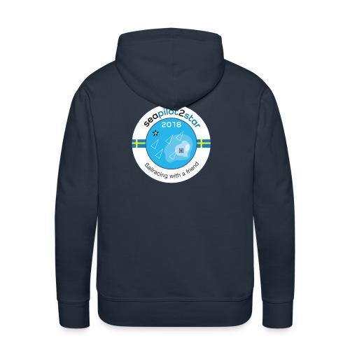 Seapilot2star 2018 logotyp - Premiumluvtröja herr